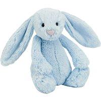Jellycat Bashful Bunny Soft Toy, Medium, Blue