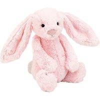 Jellycat Bashful Pink Bunny Soft Toy, Medium, Pink