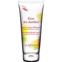 Clarins Eau des Jardins Smoothing Body Cream, 200ml