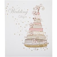 Woodmansterne Gold Cake Wedding Card