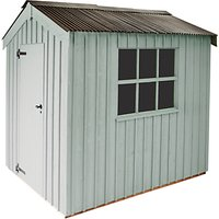 National Trust by Crane Peckover Garden Shed, 2.4 x 3m