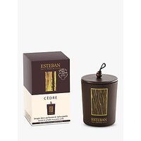 Esteban Cedre Decorative Scented Candle, 170g