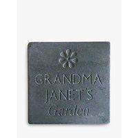 Personalised Garden Slate