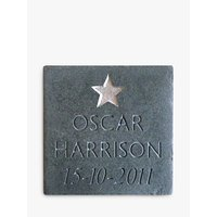 Personalised New Baby Slate
