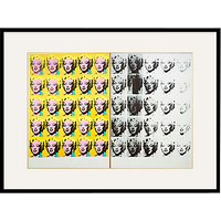 Andy Warhol- Marilyn Diptych 1962 Framed Print, 80 x 60cm