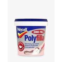 Polycell DIY One Fill Polyfilla, 600ml