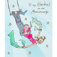 Woodmansterne Husband Anniversary Card