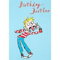 Woodmansterne Brother Birthday Card