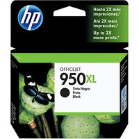 HP 950XL Ink Cartridge, Black, CN045AE