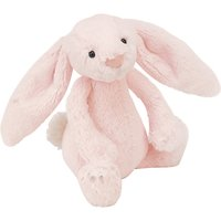 Jellycat Bashful Bunny Rattle, One Size, Pink
