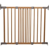 BabyDan Wooden Super Flexi Fit Baby Safety Gate