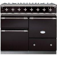 Lacanche Macon LG1053GE Dual Fuel Range Cooker, Black / Chrome Trim