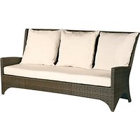 Barlow Tyrie Savannah Deep Seating 3 Seater Outdoor Sofa, Natural