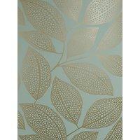 MissPrint Pebble Leaf Wallpaper
