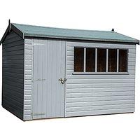 Crane 2.4 x 3m Balmoral Garden Shed, FSC-certified (Scandinavian Redwood)