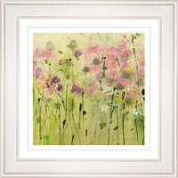 Sue Fenlon - Clover Path Framed Print, 68 x 68cm