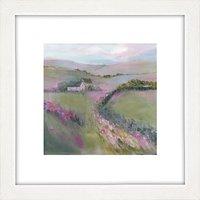 Sue Fenlon - Moorland Cottages Framed Print, 37 x 37cm