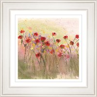 Sue Fenlon - Poppies In The Rain Framed Print, 68 x 68cm