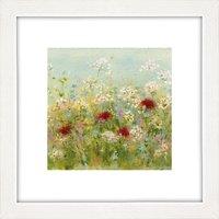 Sue Fenlon - Summer Garden Framed Print, 37 x 37cm