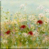 Sue Fenlon - Summer Garden Print on Canvas, 90 x 90cm