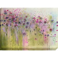 Sue Fenlon - Wild Violets In The Hedgerow Print on Canvas, 70 x 100cm