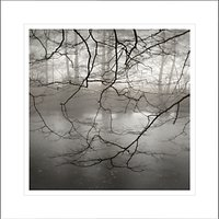 David Purdie - Mist Over Pond Framed Print, 62 x 62cm