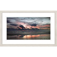 David Purdie - Red Sunset Framed Print, 67 x 107cm