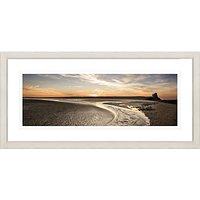 David Purdie - Rye Hardour Sunset Framed Print, 52 x 107cm