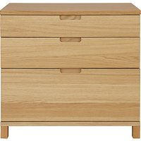 John Lewis Abacus 3-Drawer Wide Filing Chest, FSC-Certified