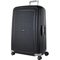 Samsonite SCure 4-Wheel 75cm Suitcase, Black