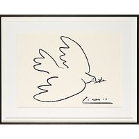 Picasso Dove of Peace Framed Print, 74 x 94cm
