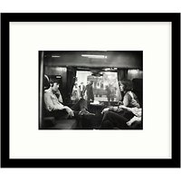 Getty Images Gallery Paul McCartney & Mick Jagger First Class Travel 67 Framed Print, 49 x 57cm