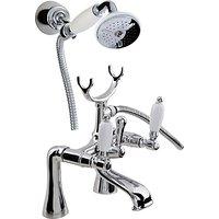 John Lewis Marden Pillar Mounted Bath and Shower Mixer Bathroom Tap
