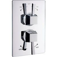 Abode Euphoria Concealed Thermostatic 2 Exit Shower Mixer, H52mm, Decadence