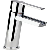 Abode Desire Single Lever Basin Filler Bathroom Tap, H160mm