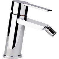Abode Desire Single Lever Bidet Mixer Bathroom Tap with Pop Up Waste, H148mm