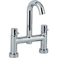 Abode Harmonie Deck Mounted Bathroom Filler Tap