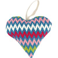 Cleopatras Needle Lavender Heart Tapestry Kit, Bargello
