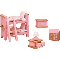 John Lewis Doll's House Accessories, Children's Bedroom Furniture