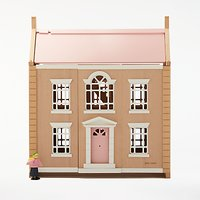 John Lewis Leckford House Wooden Doll's House