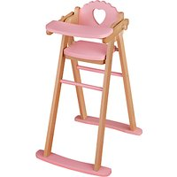 John Lewis Dolls Highchair