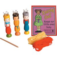 House of Marbles Knitting Doll