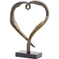 Libra Heart Sculpture