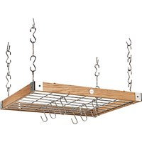 Hahn Premium Medium Square Ceiling Rack, Oak