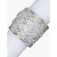 John Lewis and Partners Nest Napkin Ring, Set of 4