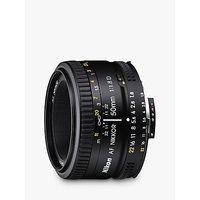 Nikon FX 50mm f/1.8D AF Standard Lens