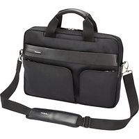 Targus Lomax 13.3 Ultrabook Topload Messenger Bag, Black