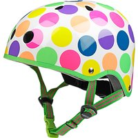 Micro Scooter Safety Helmet, Neon Dots, Small