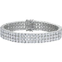 shop for Jools by Jenny Brown 3 Row Tennis Bracelet at Shopo