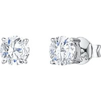 shop for Jools by Jenny Brown Cubic Zirconia Medium Round Stud Earrings at Shopo
